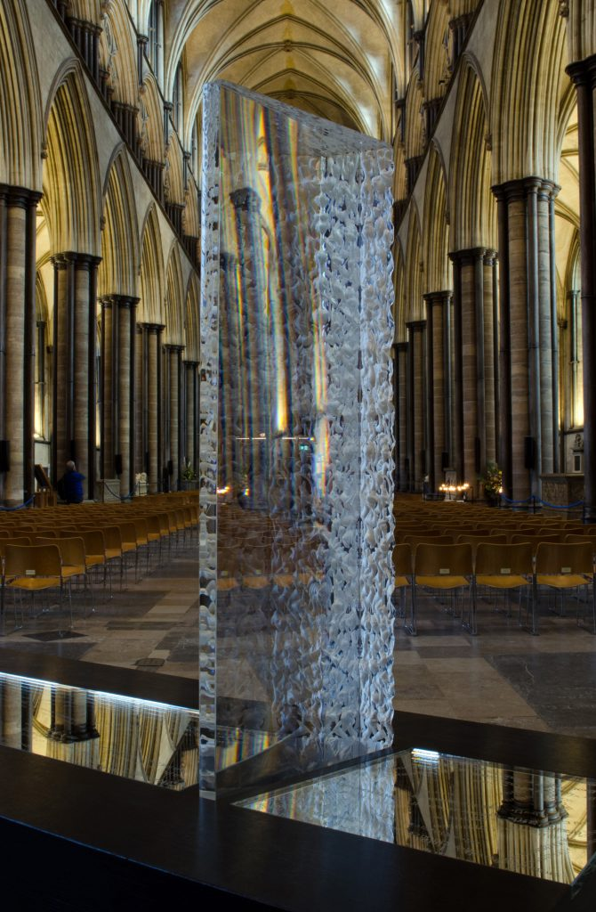 New Perspective - On exhibition at Salisbury Cathedral.